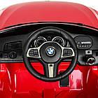 Детский электромобиль BMW JJ2164EBLR-3 красный, фото 5