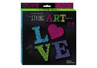 "Набор вышивки нитками ""String Art: Love"", STRA-01-03 (Стринг арт)"