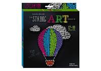 """Набор вышивки нитками """"String Art: Воздушный шар"""", STRA-01-06 (Стринг арт)"""