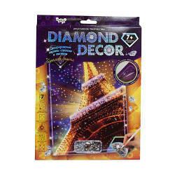 "Алмазная живопись (Картина из страз) ""Diamond Decor: Эйфелева башня"""