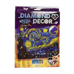 """Алмазная живопись (Картина из страз) """"Diamond Decor: Звёздная ночь"""""""