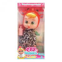 """Кукла """"Cry Babies"""" (коричневый) Пупс подарочный"""