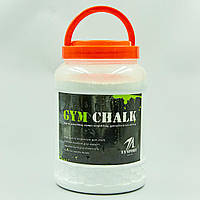 Тальк гімнастичний GYM CHALK, обсяг-1,5 л, вага-500гр.(WK1004)