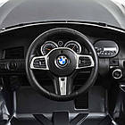 Детский электромобиль BMW JJ2164EBLRS-11 серебро автопокраска, фото 7