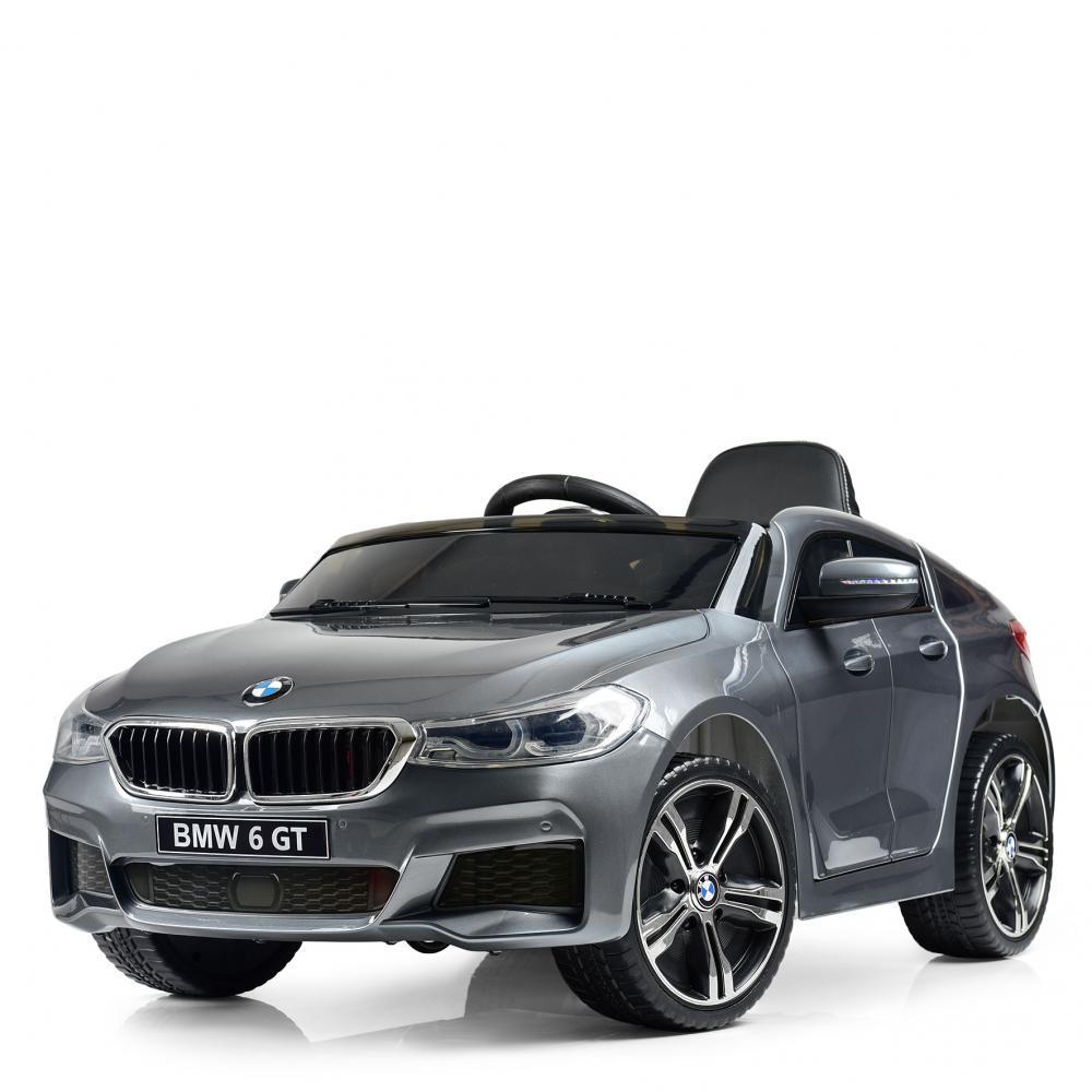 Детский электромобиль BMW JJ2164EBLRS-11 серебро автопокраска
