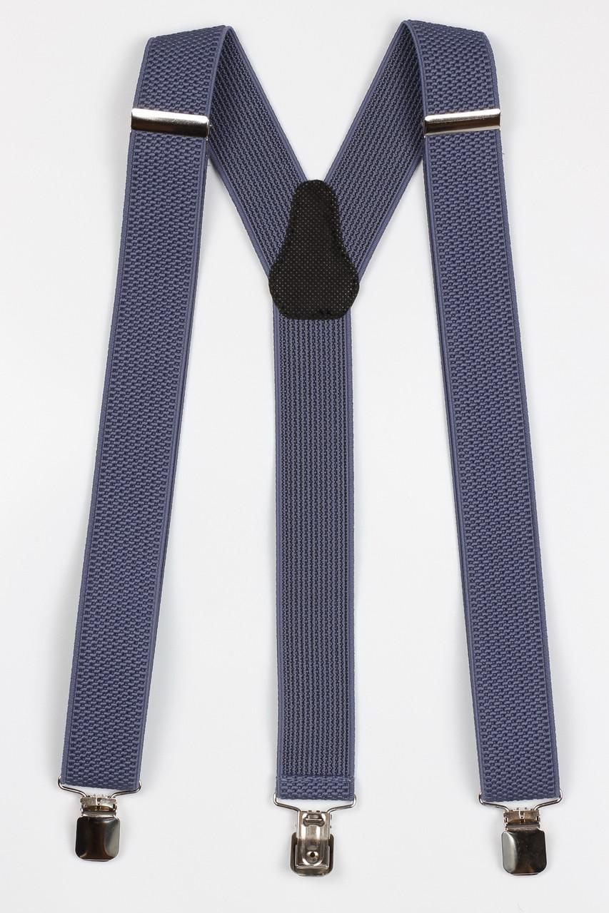 Подтяжки мужские унисекс средние Y35 Top Gal джинс однотонные цвета в ассортименте
