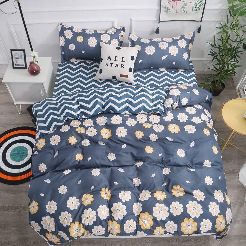 Комплект постельного белья цветы полуторное