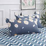 Комплект постельного белья цветы полуторное, фото 3