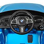 Детский электромобиль BMW JJ2164EBLRS-4 синий автопокраска, фото 3