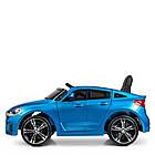 Детский электромобиль BMW JJ2164EBLRS-4 синий автопокраска, фото 5