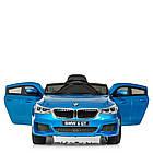 Детский электромобиль BMW JJ2164EBLRS-4 синий автопокраска, фото 4