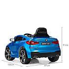 Детский электромобиль BMW JJ2164EBLRS-4 синий автопокраска, фото 6