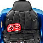 Детский электромобиль BMW JJ2164EBLRS-4 синий автопокраска, фото 7