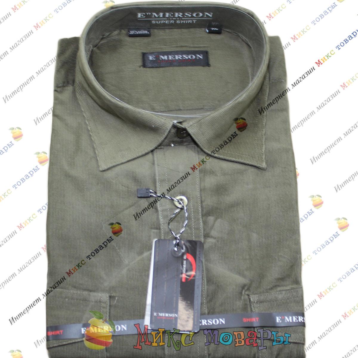 Мужские вельветовые рубашки Ворот: 38- 46 (mh210c-1)