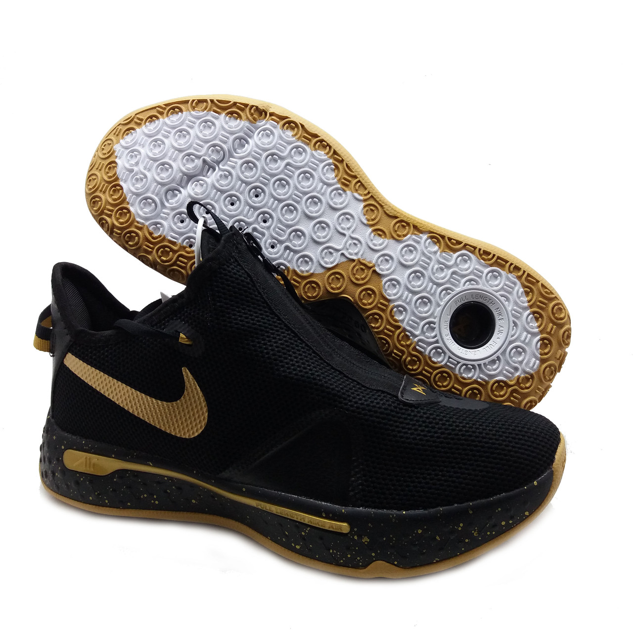 Баскетбольные кроссовки Nike PG 4 Черно-золотой