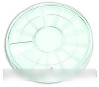 Круглая пластиковая тара yre, пластиковая тара для хранения камешков
