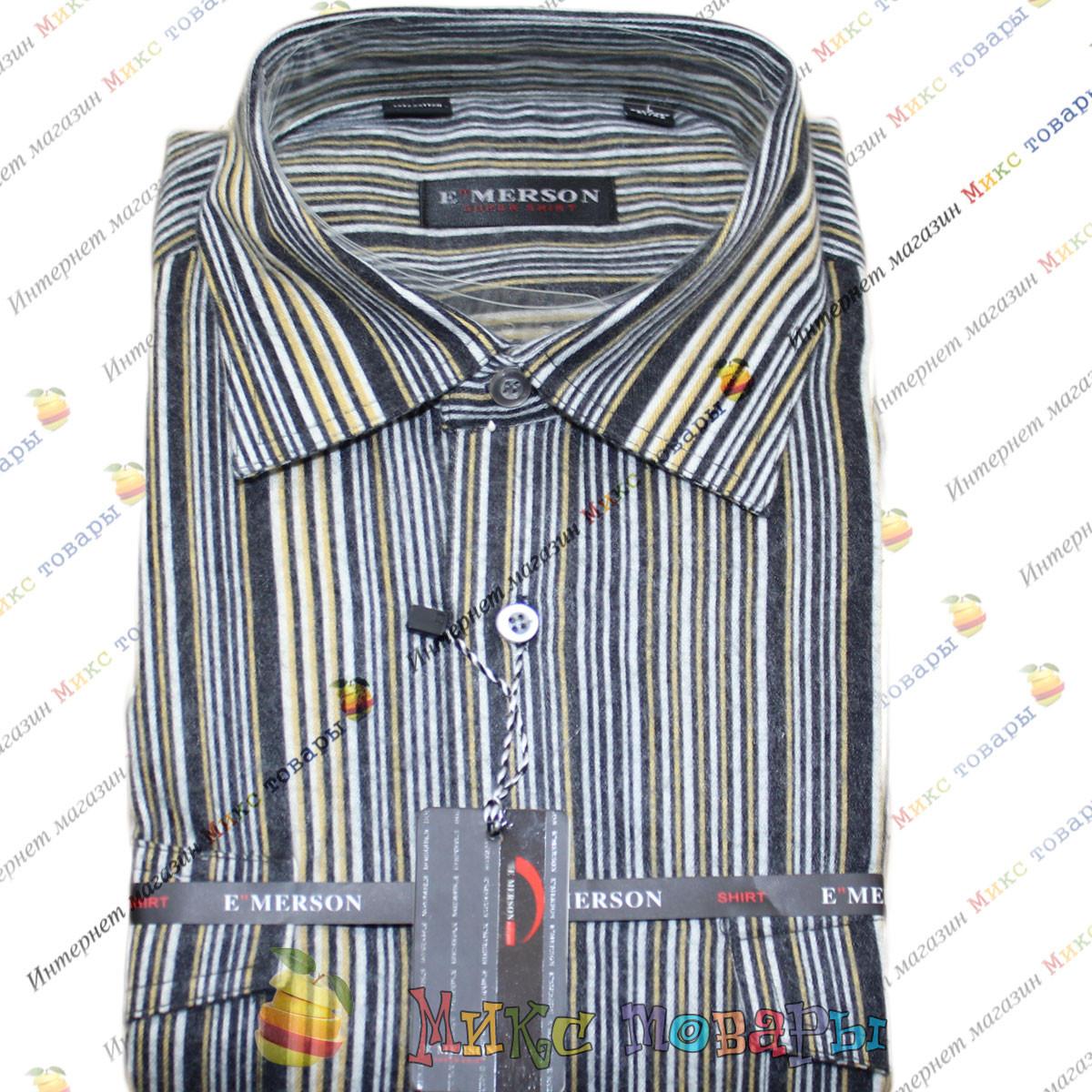 Мужские рубашки Шерсть Ворот: 38- 46 (mh47b-1)