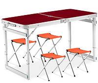 Раскладной стол и стулья для пикника Rainberg Strong Усиленный
