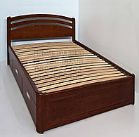 """Кровать детская подростковая деревянная с ящиками """"Натали"""" kr.nt4.1"""