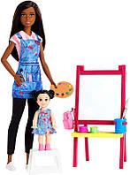 Кукла БарбиУчитель рисования набор Mattel Barbie  GJM300 (Оригинал)
