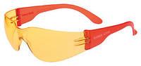 Очки 11536 с пластм. дужкой желтые VT