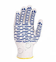 Перчатки 526 бел волна ПВХ (10 шт)