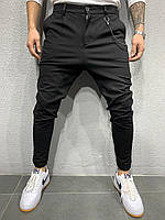 Мужские брюки 2Y Premium P1061 black, фото 1