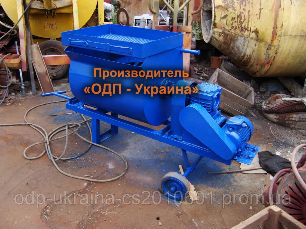 Шнековый Бетоносмеситель ШБС-200 литров