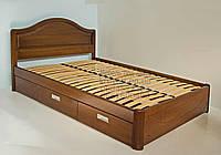 """Кровать детская подростковая деревянная с ящиками """"Виктория"""" kr.vt4.1"""