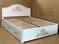 """Кровать детская подростковая деревянная с ящиками """"Виктория"""" kr.vt4.2"""