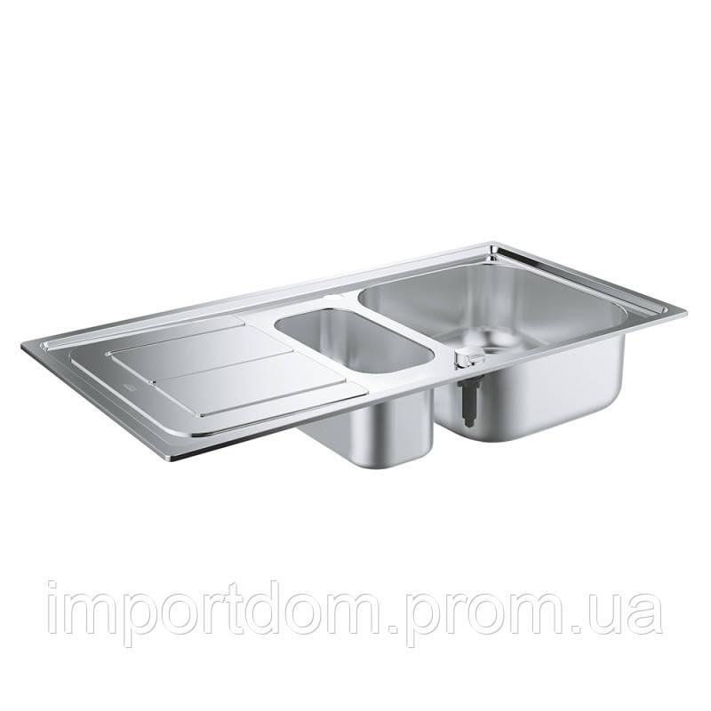 Набор кухонная мойка GroheEXSink31565SD0K300исмесительEurosmart33281002