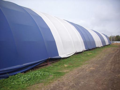 Тентовые конструкции под сельскохозяйственные помещения