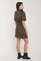 Платье прямого кроя из костюмной ткани.Размеры: 44,46,48