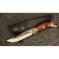 Нож охотничий Nb Art Овен 22k02 подарочный нож для охотника рыбака в чехле в ножнах