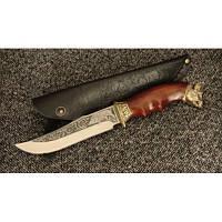Нож охотничий Nb Art Вепрь 22k04 подарочный нож для охотника рыбака в чехле в ножнах