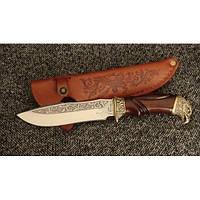 Нож охотничий Nb Art Ястреб 22k06 подарочный нож для охотника рыбака в чехле в ножнах