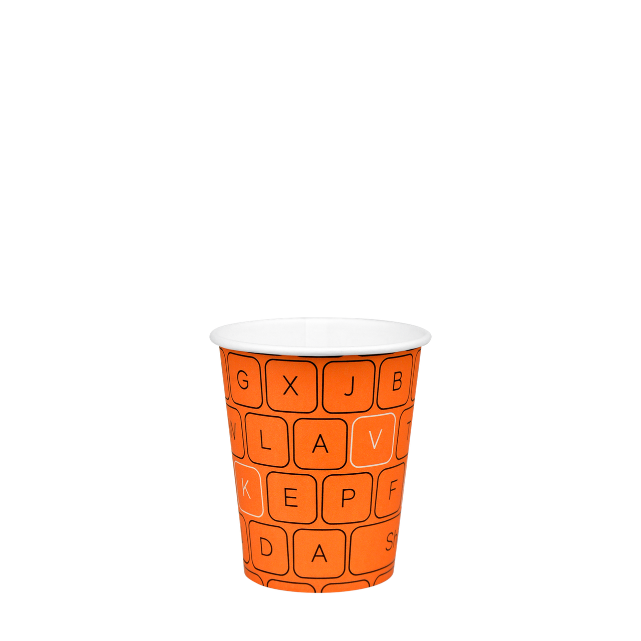 "Стакан бумажный ""#Parol"" 175мл. 50шт/уп (1ящ/54уп//2700шт) (КР69/КР""Т""70)"