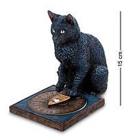 Статуэтка  Veronese Кот предсказатель 15 см 1904130 черная кошка фигурка статуетка веронезе