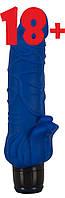 Вібратор Vibra Lotus Penis blue, фото 1
