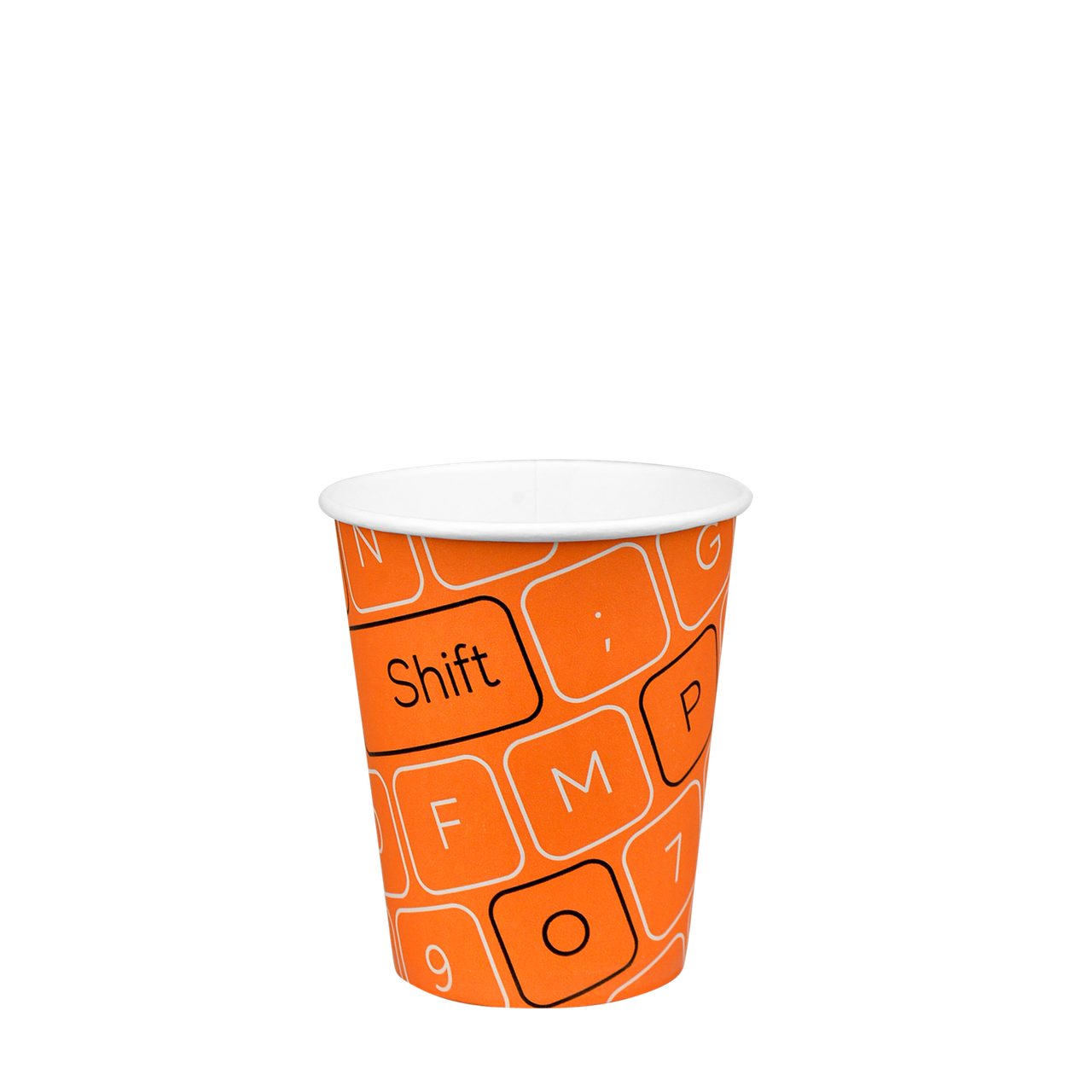 """Стакан бумажный """"#Parol"""" 300мл. 50шт/уп (1ящ/20уп/1000шт) (КB80)"""