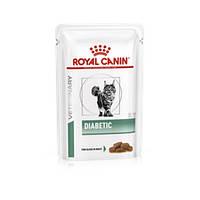 Royal Canin (Роял Канин) Diabetic Feline диета для кошек при сахарном диабете 85гр х 12шт