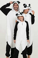 Пижама Кигуруми Family look, kigurumi panda, кигуруми панда. Размеры 50-56 на рост 181-200+ см, для всей семьи