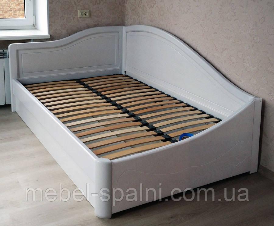 """Кровать детская подростковая деревянная с подъемным механизмом """"Анна+"""" kr.an7.2"""