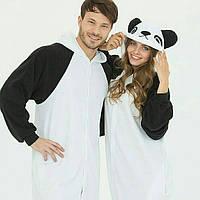 Пижама Кигуруми Family look, kigurumi panda, кигуруми панда для ребенка. на рост 110-128 см, для всей семьи