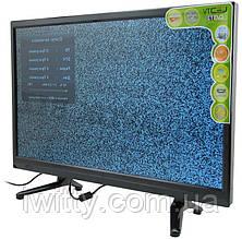 """Телевизор LED-TV 22"""" СМАРТ приставка в ПОДАРОК FullHD/DVB-T2/USB (1920×1080)"""