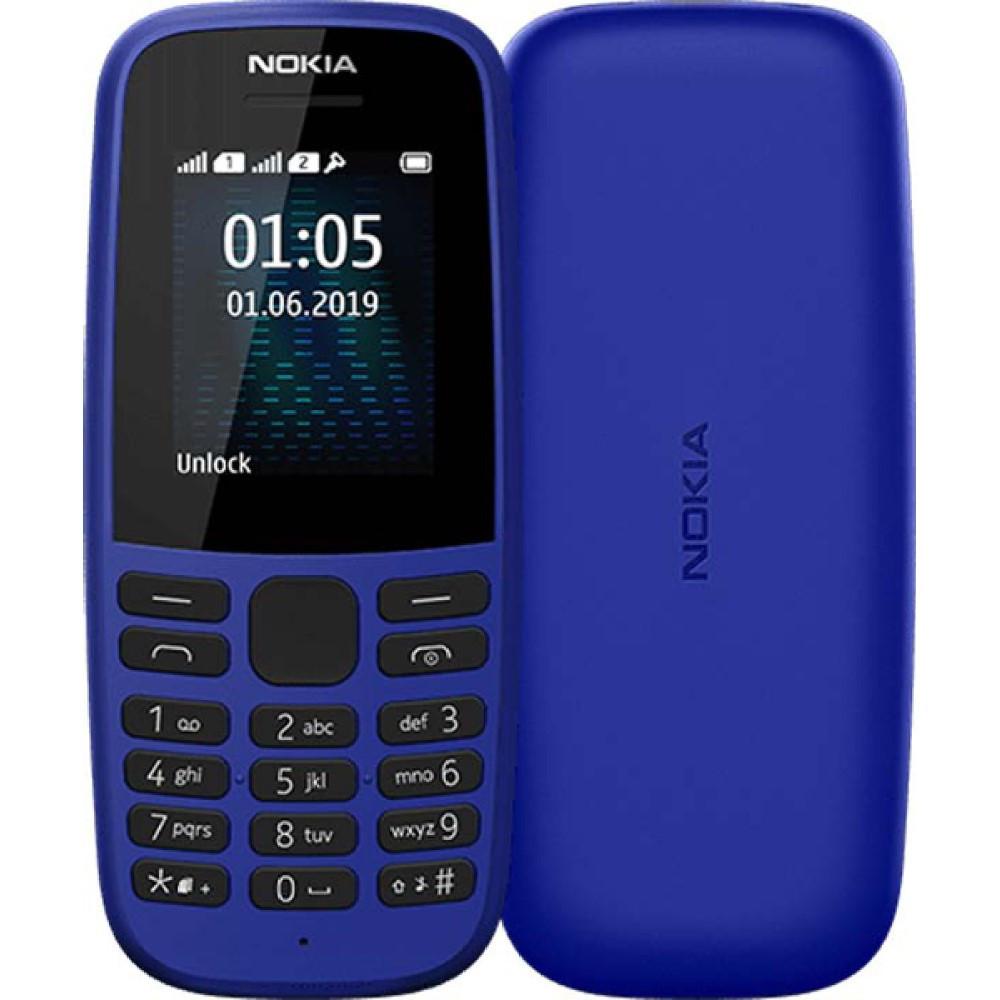 Мобильный Телефон Nokia 105 Blue 2019