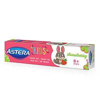 Зубная паста Astera Kids с клубничным вкусом 50 мл
