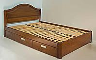 """Кровать детская подростковая деревянная с ящиками """"Виктория"""" kr.vt5.1, фото 1"""