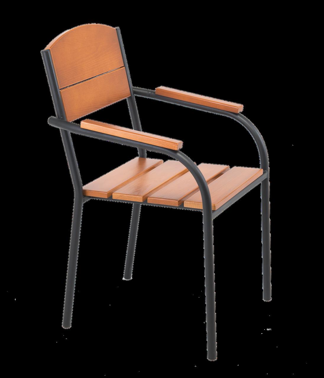 """Кресло для кафе Микс-Лайн """"Фелиция"""" Венге(темный шоколад)"""