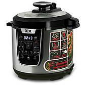 Мультиварка-скороварка DEX DPC-60 (85 режимов, Шеф-повар)